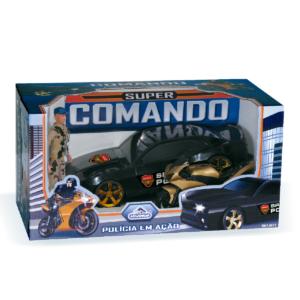 REF 0833 | Super Comando Polícia em Ação